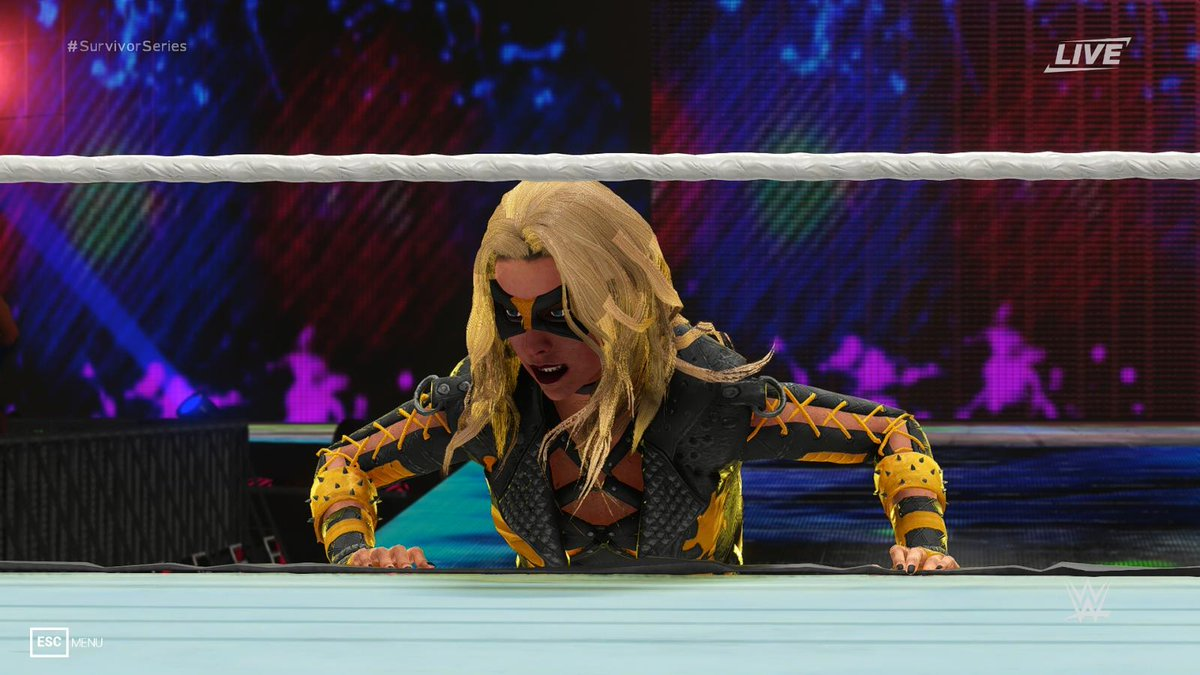 #2KM: 'Black Canary (IJ2)' by LynchReborn, available now! https://t.co/d3lZsUMfwY #2KMods #WWE2K #2K19 #Modding #Gaming https://t.co/IJl2DlnUlp