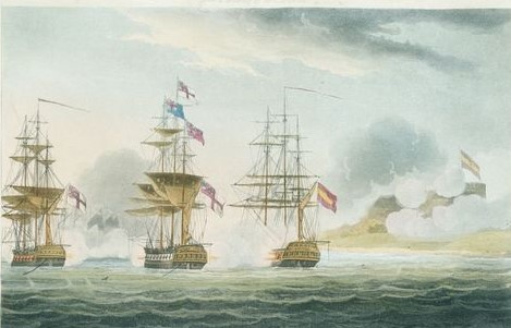 Cold-blooded daring saw the #RoyalNavy capture the heavily fortified Dutch base at #Curaçao on January 1st 1807 with almost ludicrous ease. Failure to recover from hangovers from the previous night's festivities may have played a role, Click: https://bit.ly/2AuqHcf #Napoleonicpic.twitter.com/XSqjbsM2dq