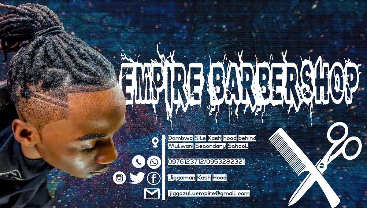 Jigga zulu empire barbershop pic.twitter.com/T0BDePQziV