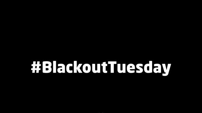 #blackoutuesday