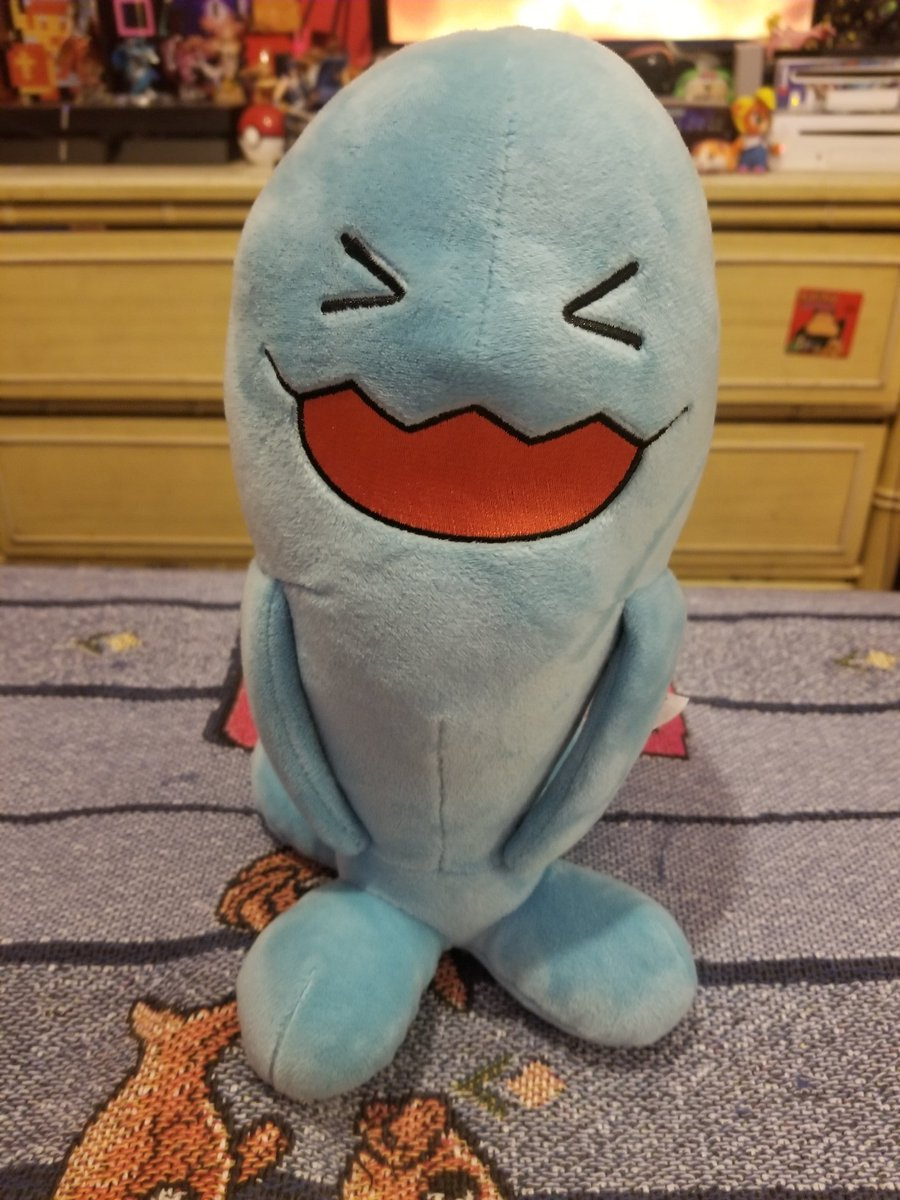 Wobbuffet! Ready to appear randomly #wobbuffet #pokemon #nintendo #pokemontrainer #pokemonmaster #plushiepic.twitter.com/4uK8gv6HuO