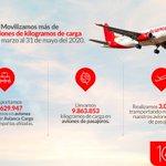 Image for the Tweet beginning: Junto a @Avianca_Cargo realizamos vuelos