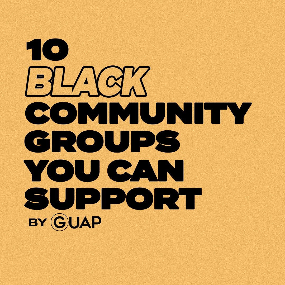 10 Black Community Groups You Can Support ✊🏿💛 [a Thread] *UK Based 🇬🇧