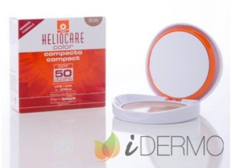 HELIOCARE COLOR COMPACTO MINERAL SPF50 #Heliocare https://t.co/uHaKSnKSa7 Fotoprotección alta con activos antioxidantes y reparadores para aportar una alta cobertura en color para cubrir imperfecciones y unificar el tono. Protege y maquilla. Fórmula 100% mineral. https://t.co/lQSza4yPX0