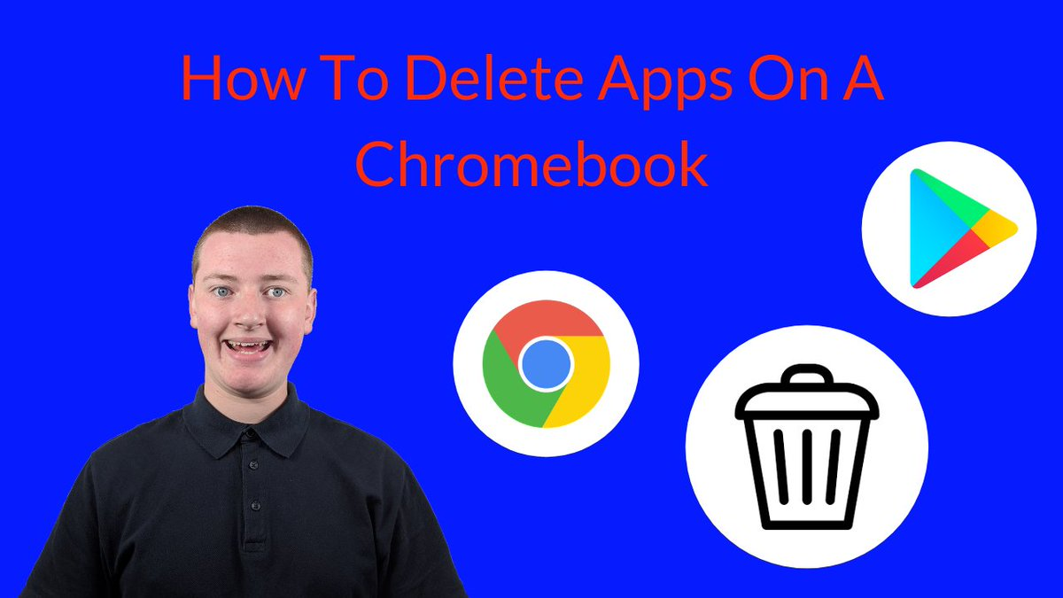 In this video, Timmy shows you how to delete apps on a Chromebook.  #chromebooktips #chromeostips #chromebooks #chromeos  https://t.co/5GR5wD5yrA https://t.co/ptNJ3i11qC