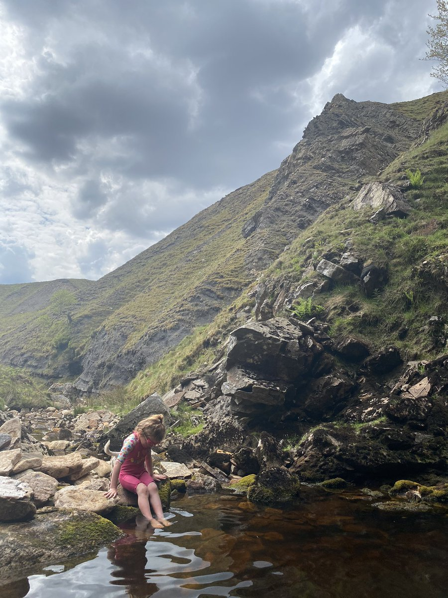 Getting to here was a feat of endurance in itself.  Walk, climb, scramble and piggy back.   But the journey was worth it. #yorkshire #swim #waterfall #outdoors #nature #countrysidepic.twitter.com/rUI03Ivuei