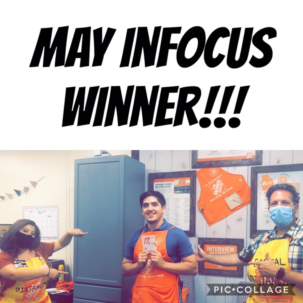 Congrats to Aaron, our East Lubbock #InFocus winner for May!  He was recognized by his peer for wearing gloves while loading lumber.  Enjoy a meal on us.  #earlyandoften pic.twitter.com/yU9zxZrykv
