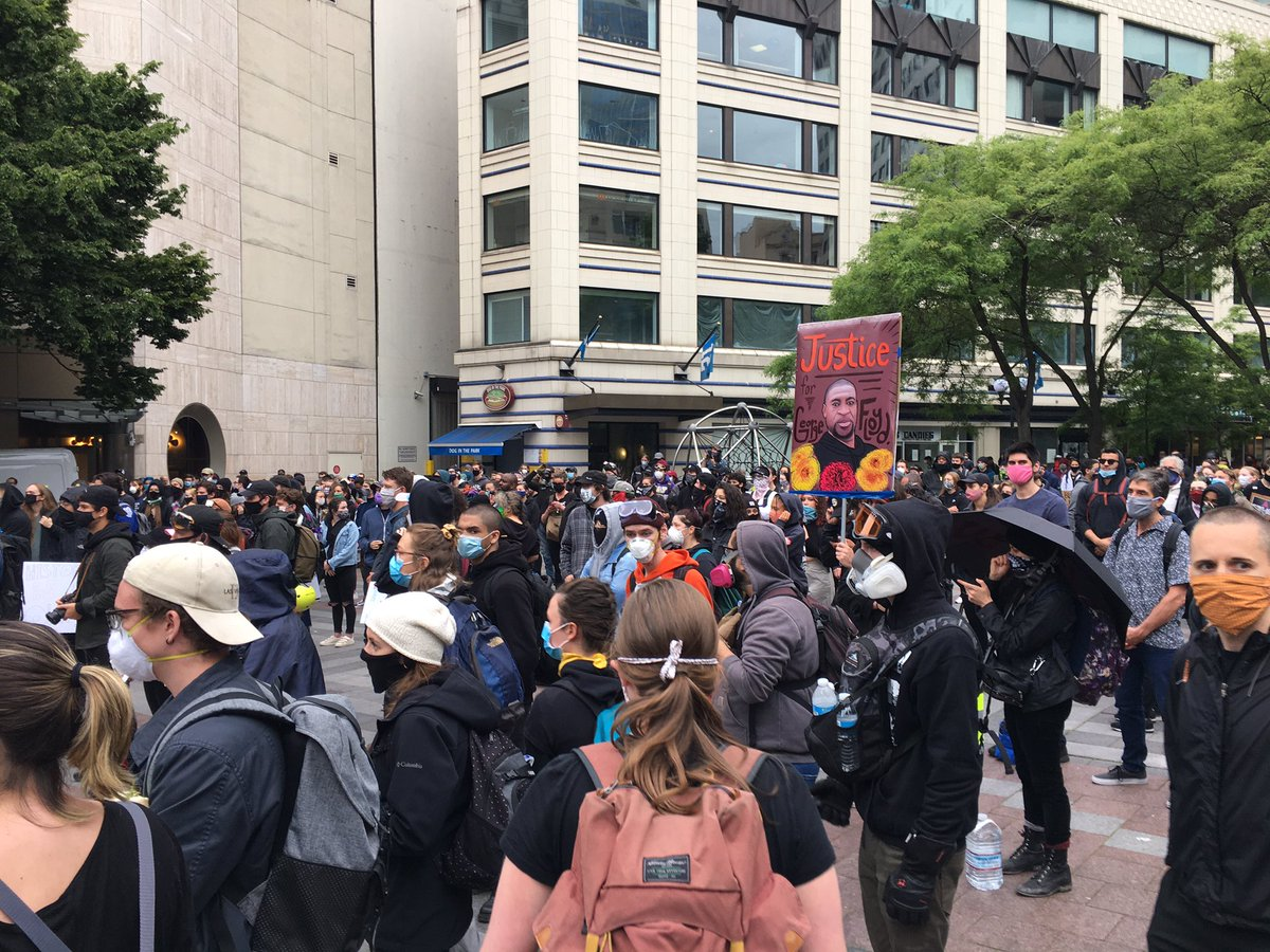 Patrick Quinn On Twitter Just In Hundreds At Westlake Right Now In Downtown Seattle Organizers Just Announced They Re Marching To Cal Anderson Park In Capitol Hill Komonews Https T Co Mlpfgbqfbh