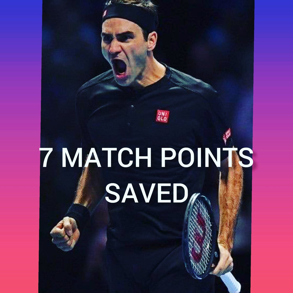 [when #federer saved 7 #matchpoints ] https://youtu.be/5LyBEZbOllY  #tennis #tennisvideo #tenniscourt #tennistraining #tennispractice #training #tennistime  #tennispro #tennispassion    #tennislove #tennisislife #tennisball #sport #теннис  #tennisworld  #instatennis #테니스 #tênis pic.twitter.com/Ihn4SqwPzT