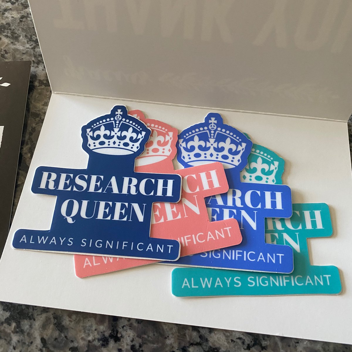 FREE domestic shipping when you buy 2 items! Use code: FREESHIPPING. New stickers in stock 🎉😍https://t.co/SnQkALNmRX. #academic #academia #academicwriting #research #researcher #phd #phdlife #phdstudent #professor #collegeprofessor #thesis #dissertation #writer #writing https://t.co/dWywaMFpbH