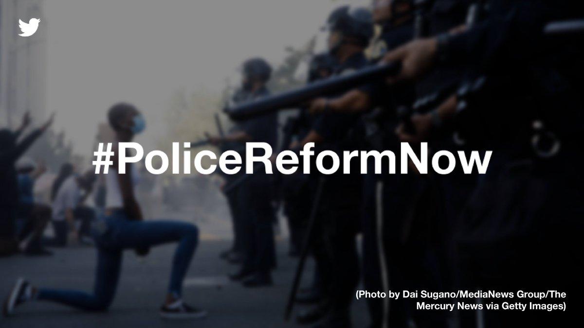 Enough! #PoliceReformNow https://t.co/KOQ7wafdDV