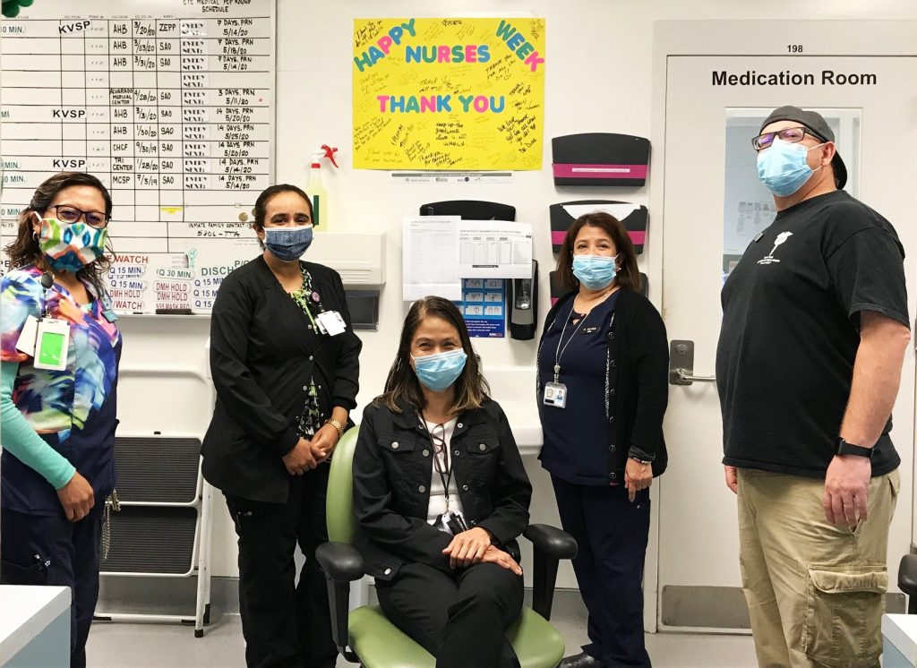 Last month, CDCR honored #NationalNursesWeek by celebrating the outstanding men and women who provide essential #health care services inside state institutions. Barbecues and giveaways were held in appreciation for the department's dedicated and hard-working #nursing staff. https://t.co/WbA6O3UIwv