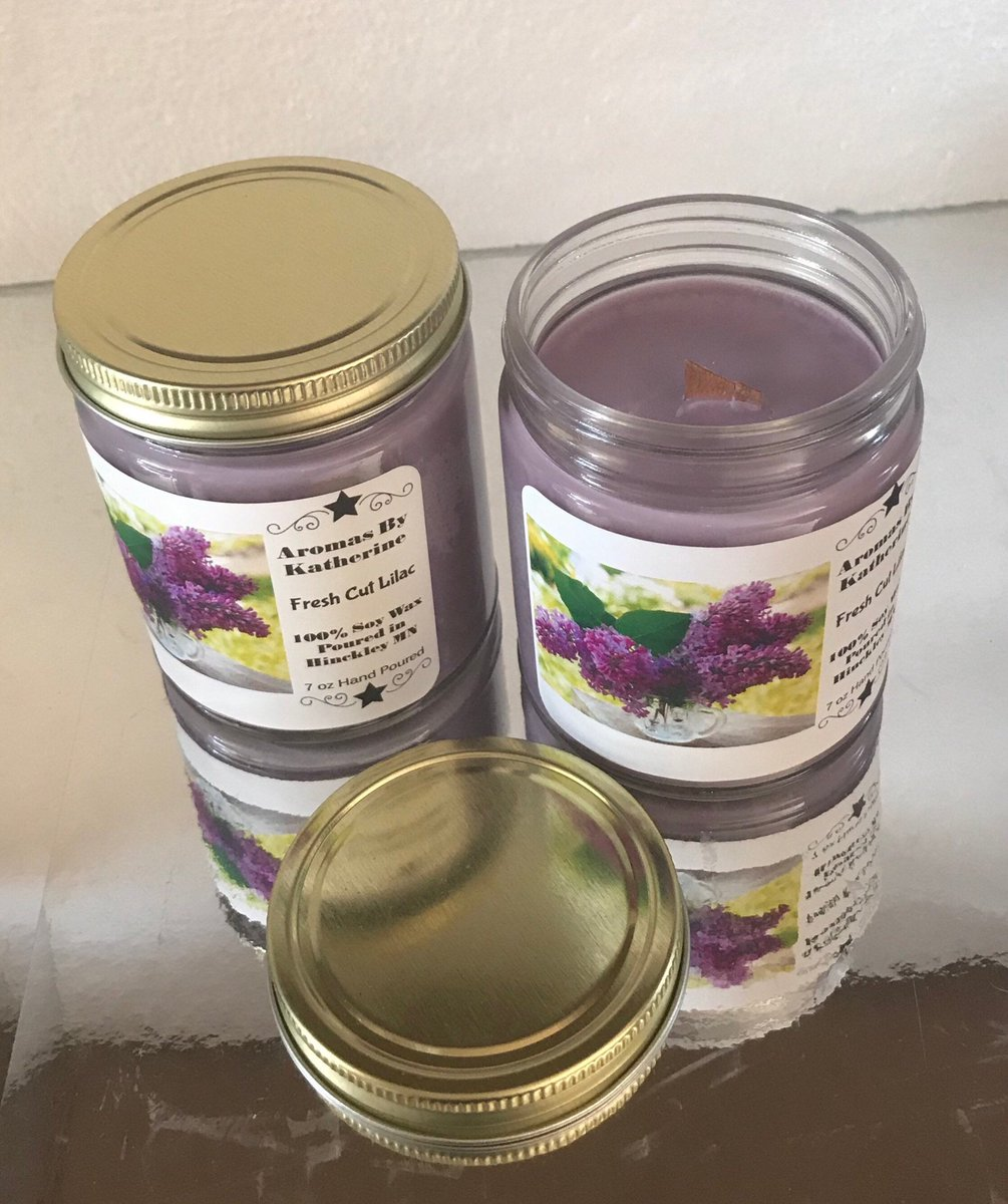 """Thanks for the kind words! ★★★★★ """"Very satisfied with purchase and seller !  Shipping was super fast and the product is perfect !"""" Mary O. #etsy #woodwickcandle #soywaxcandle #glassjarcandle #purple #soywax #lilac #handpoured #madeinusa https://etsy.me/2Bsq6Iupic.twitter.com/u4LlIuCwCK"""