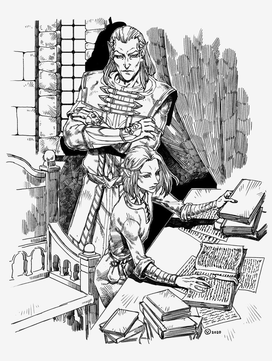 Commission #yomiferusart #yomiferus #artist #yomi_ferus #twitterart #twitterartist #artwork #illustration #illlustrator #fantasy #OC #commissionsopen #Commission #sketch #Skyrim #Ancano #Thalmor #altmer #tes #TheElderScrolls pic.twitter.com/BWGZ2FyNKG