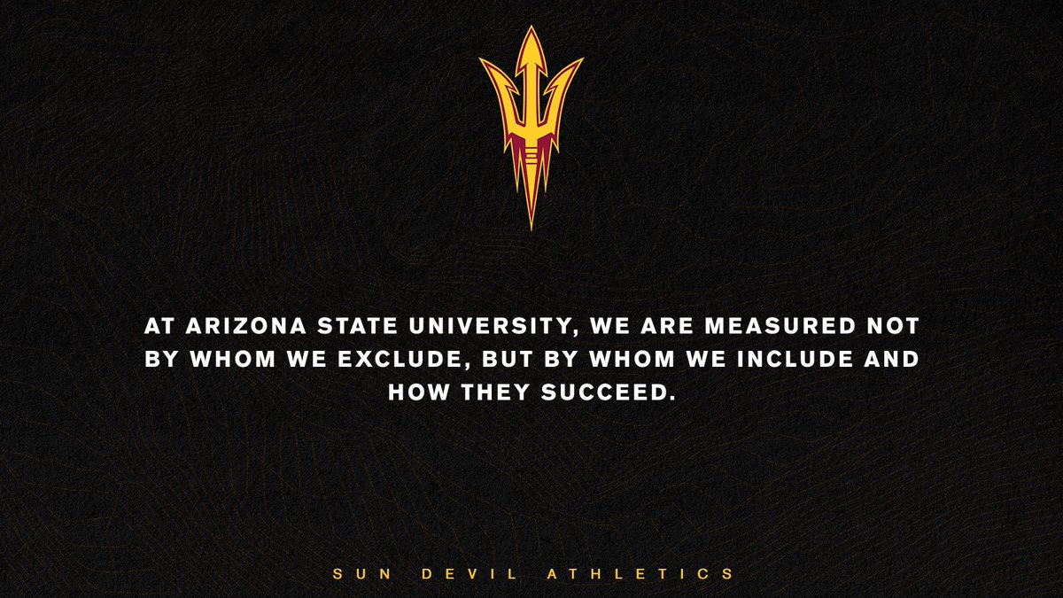 Statement from Sun Devil Athletics: thesundevils.com/news/2020/6/2/…