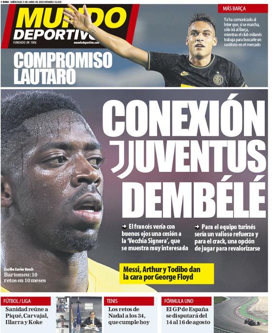 📰 [MD] | Juventus Dembélé Connection