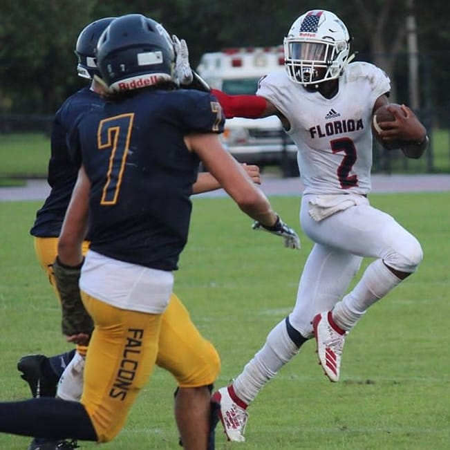 Florida Christian (FL) 23' ATH Antonio Robinson Jr.   The three-sport star who sports a 3.8 GPA, holds double digit D1 FBS offers; was named to the Rising Stars All-South Florida Freshman Team and later a High School All-American. pic.twitter.com/bby3ll26Yo