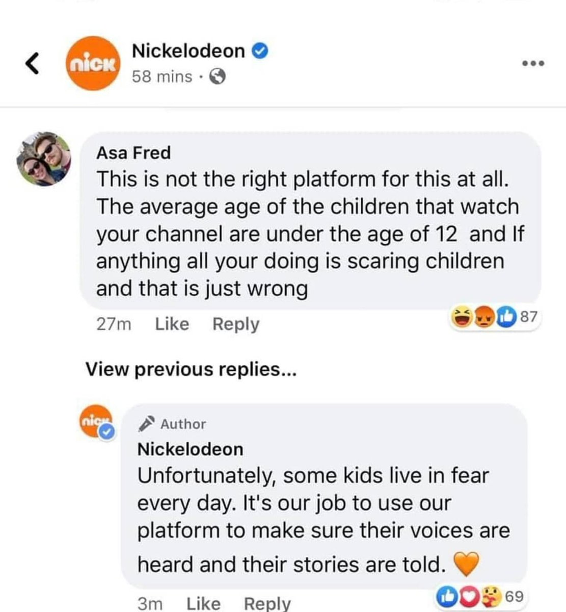 Nickelodeon said what tf they said! https://t.co/XV71zovic1
