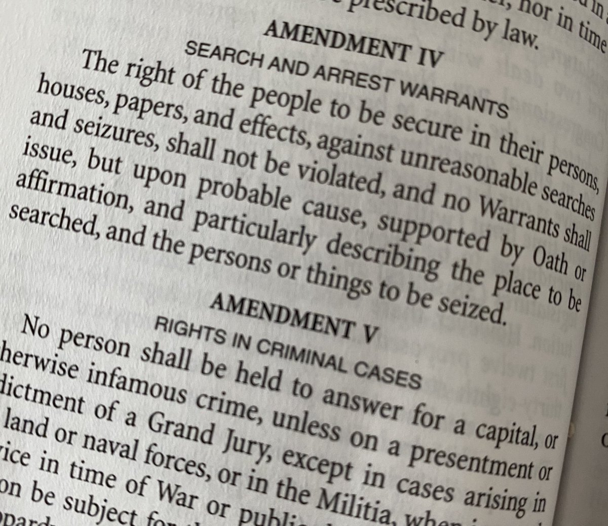 @Veeshandle @TomNamako @JasonLeopold There might be some people gathering intelligence on what they choose to do to our fellow Americans, too.😉 Not illegal: Protesting peacefully, free speech Illegal: Warrantless searches that violate the #FourthAmendment #DocumentEverything #StaySafe #Vote