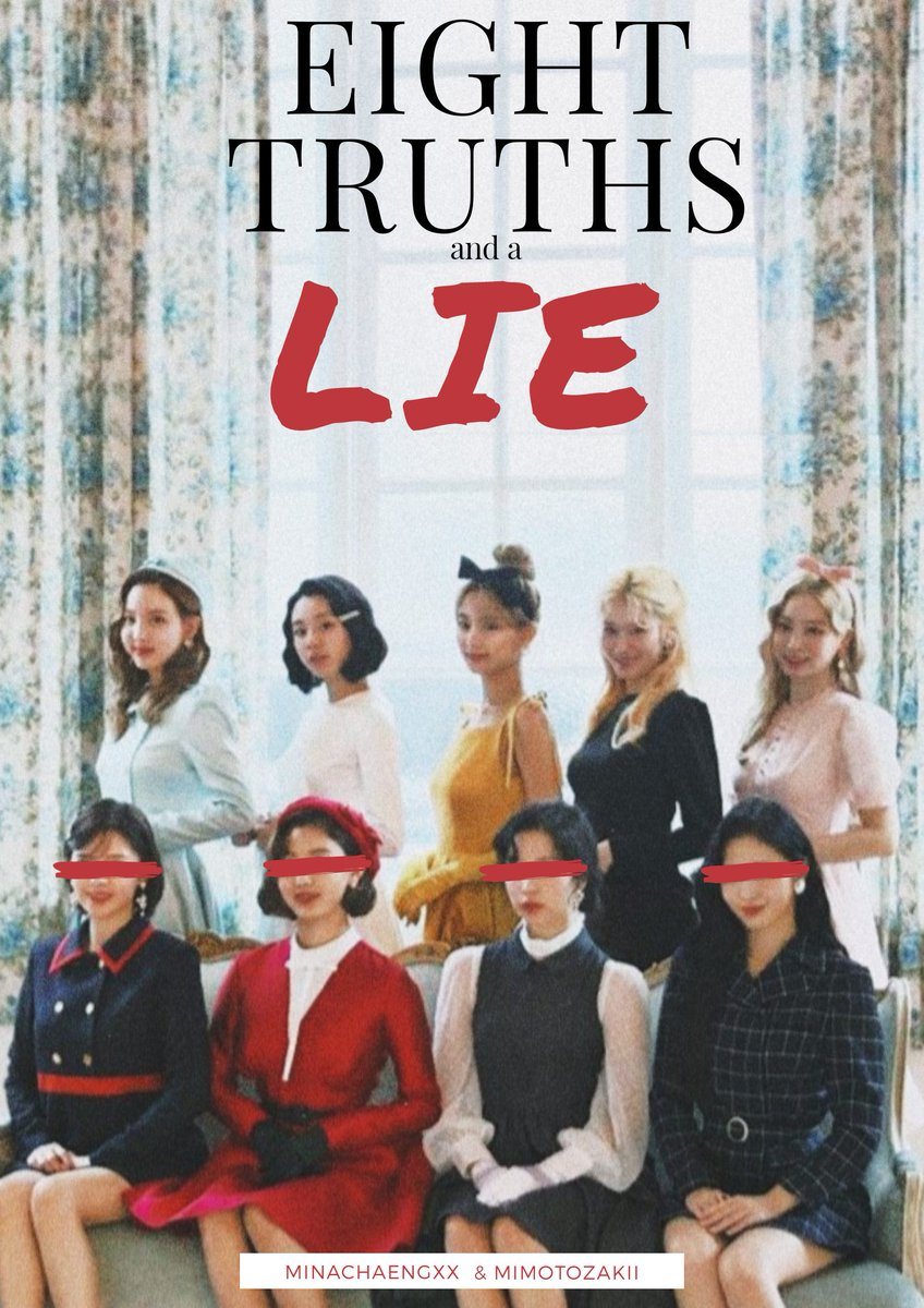 Eight Truths And a Lie A Twice Murder-Mystery AU  After their Father's death, four sister reunite to know who is the prime heiress of their family's wealth.  Problems and burried grudges starts to resurface after years of being apart. What will happen after the night ends? <br>http://pic.twitter.com/hXjB1eOfTy