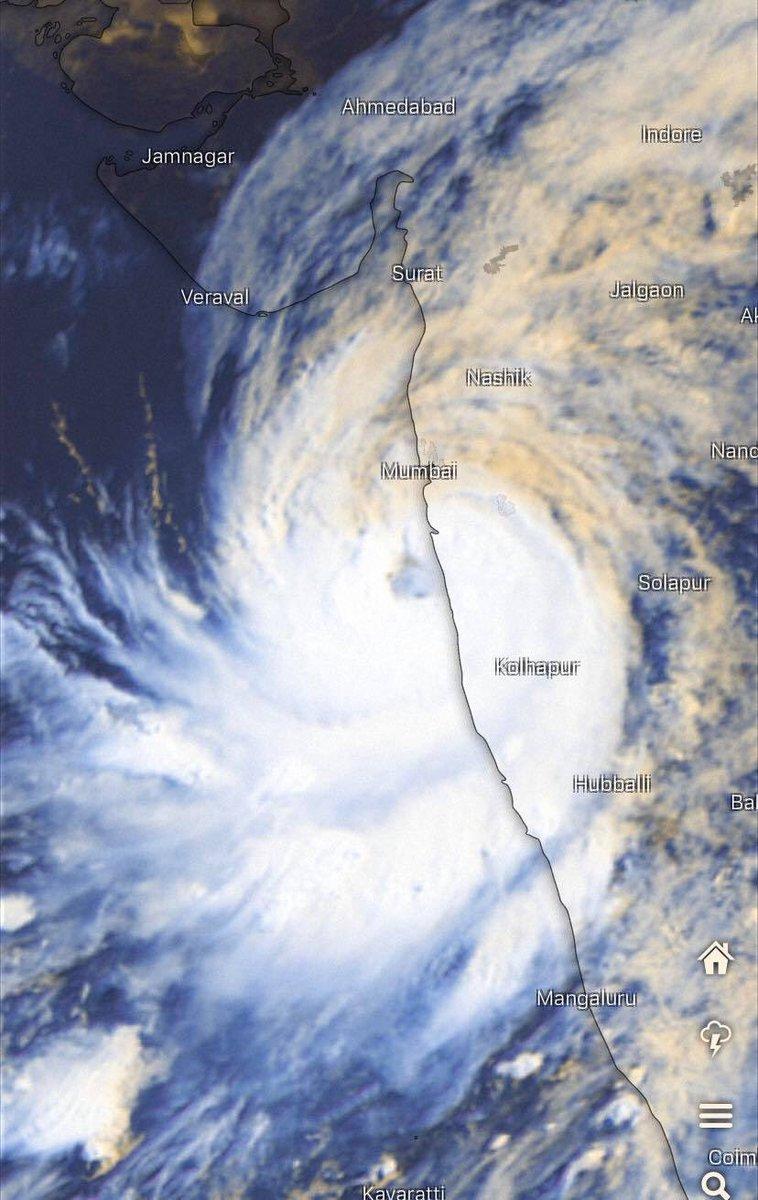Widespread rainfall forecast for South Gujarat region