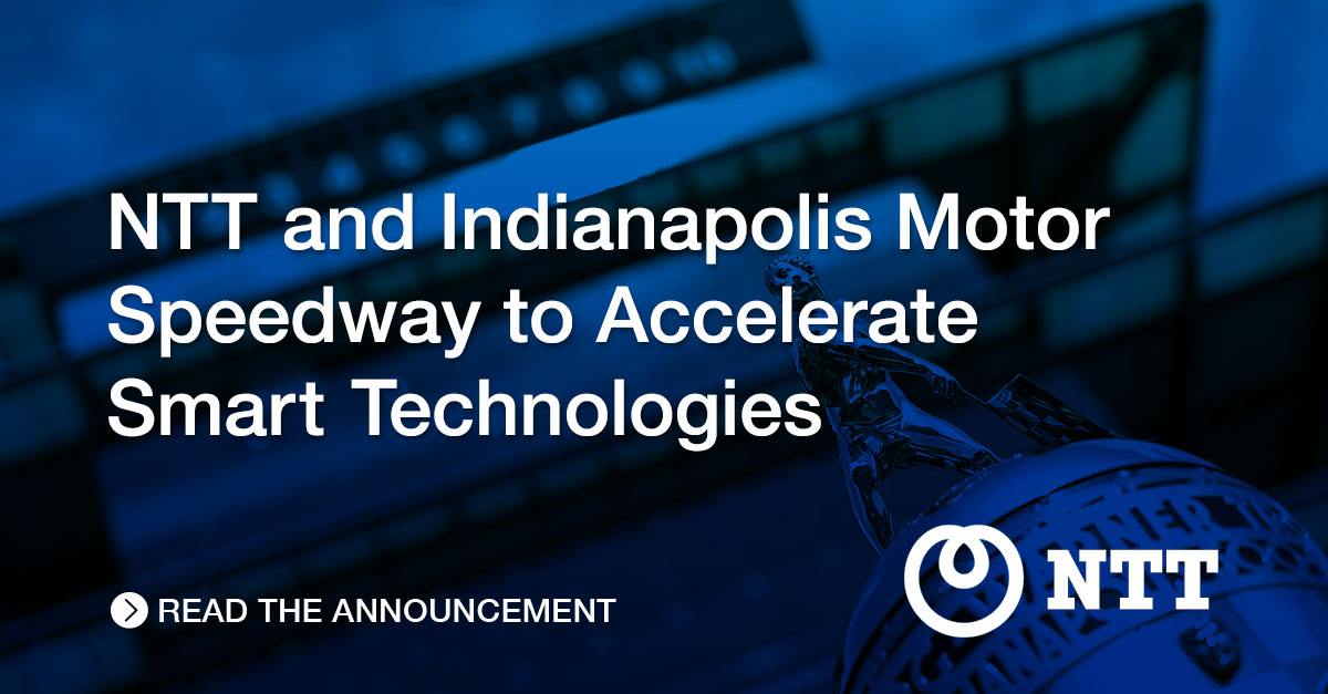 NTT is helping @IMS accelerate smart technologies to improve the fan experience and safety at the track for the rescheduled 104th #Indy500 this August.  https://t.co/Xoq3BqDKso https://t.co/lPPXL3ONkj