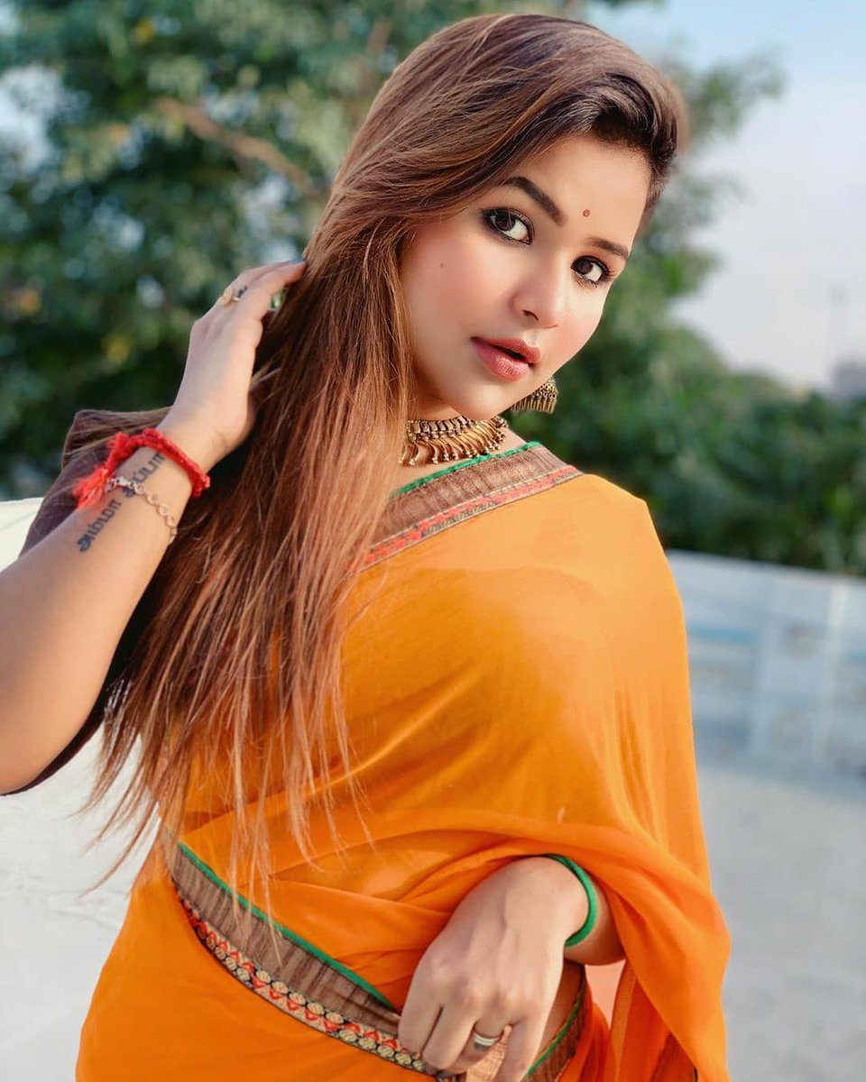 #sweetorange #saree #swag