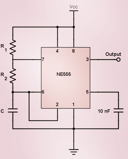 555 Timer Astable Circuit - Electrical Engineering & Electronics Tools   #electronics #555timerchippic.twitter.com/bEexLp0N5n