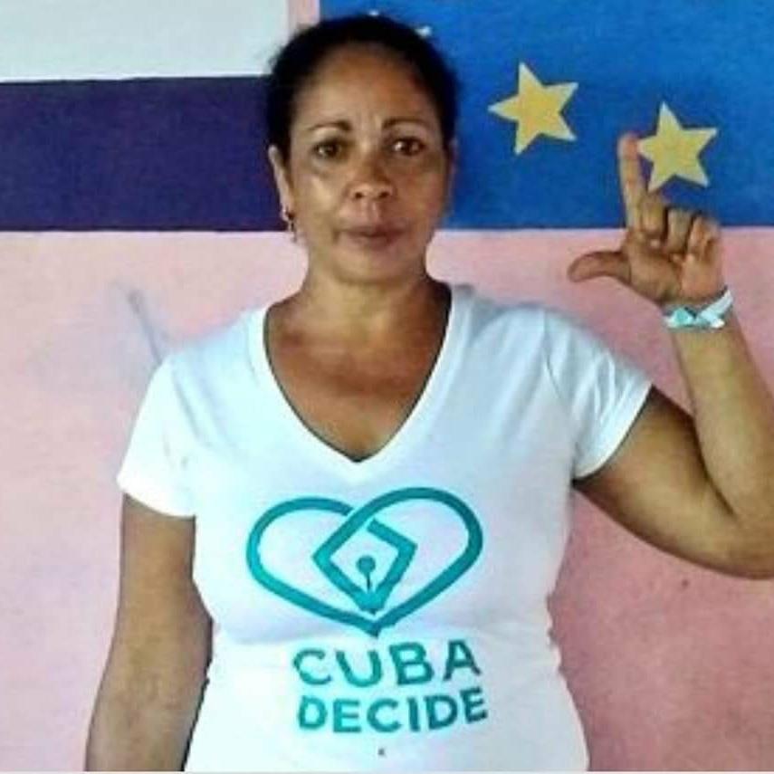 Aymara Nieto prisionera política cubana