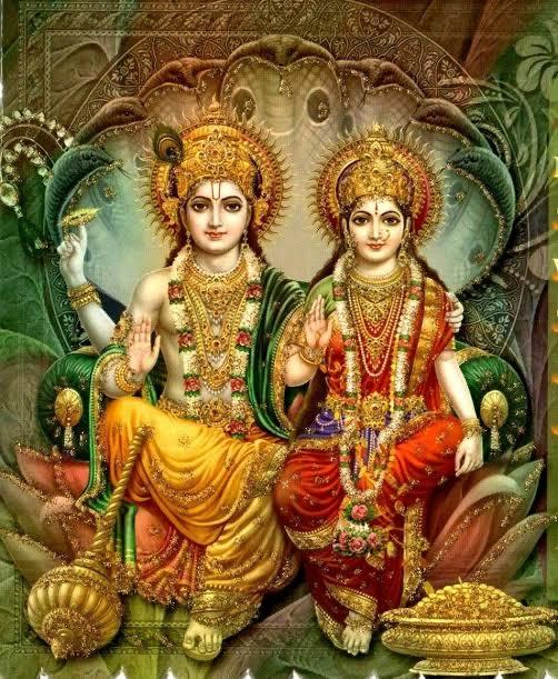 ॐ ह्रीम श्रीम लक्ष्मी नारायणाय नमः।   May the Goddess of Wealth and the God who preserves us all bless us with positive energies.   #Shlokas #Shlok #Sun #Surya #Hindu #Hinduism #Divine #Hindus #Bhakti #wednesdaymorning #wednesdaywisdom #mythology