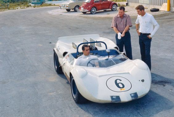 Nassau Speed Week, December, 1964. Hap Sharp and Jim Hall look on as Roger Penske sits in the Chaparral 2A Chevrolet.   https://t.co/18WMPsquaB https://t.co/fpFIanmZSe
