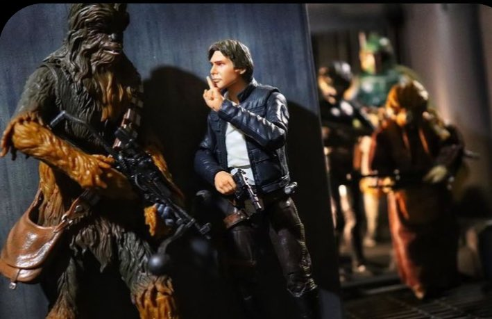 """#STARWARS  """"Shhh""""   by Toyzlife  Picture from JediInsider https://t.co/rS8SLtjvdD"""