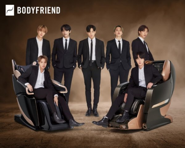 BTS×BODYFRIEND(ボディフレンド)BTS効果で前年比38%増の売り上げ✔️記事✔️BODYFRIEND 動画等まとめ→#BTS新しく見る写真!