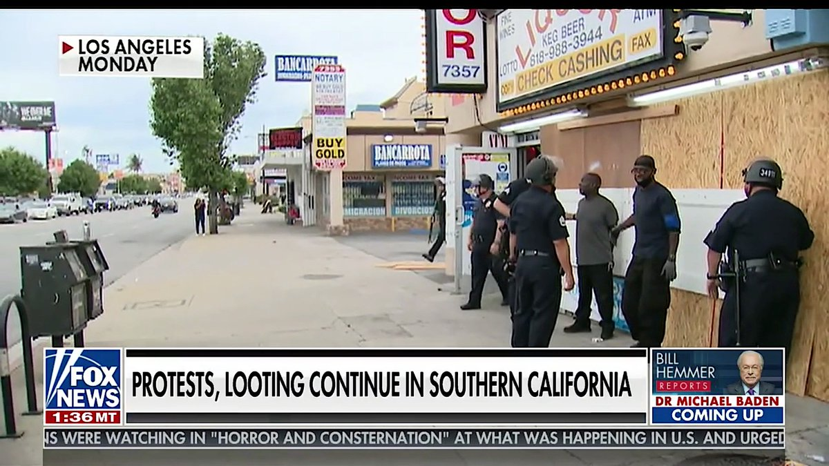 Fox News edits video to remove police with guns drawn, cuffing innocent Black people
