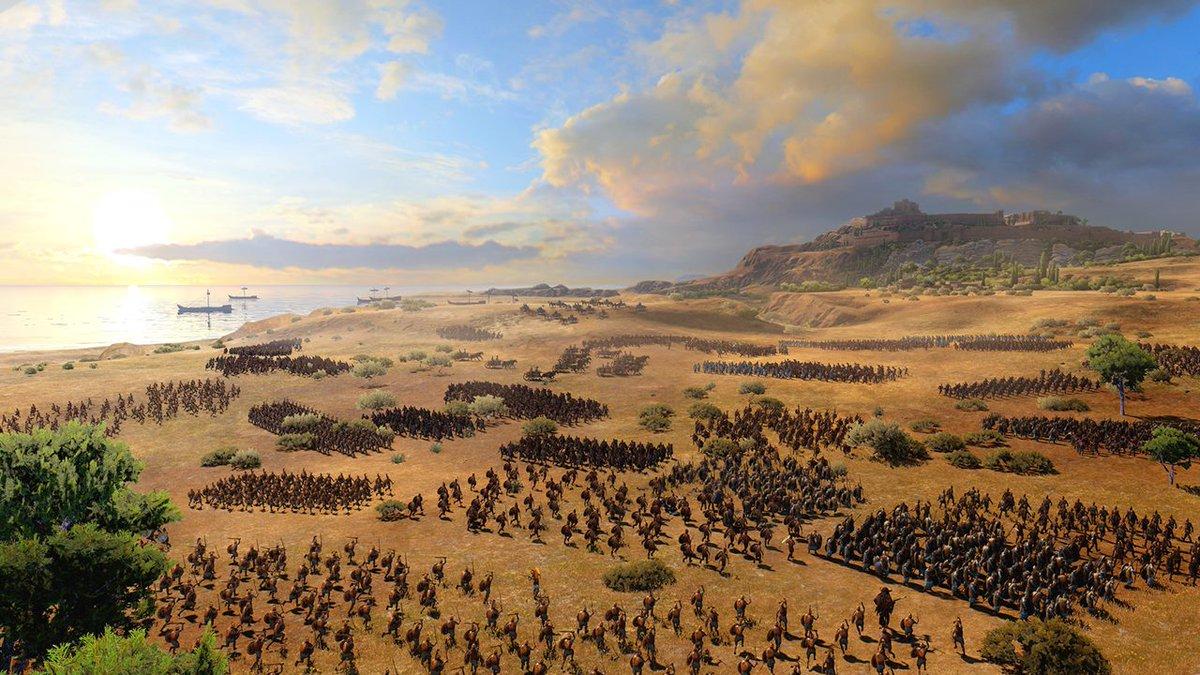 【ニュース】ギリシャ神話の戦争ストラテジー『Total War Saga: TROY』発表。8月13日にEpic Gamesストアでなんと「初日無料配布」へ