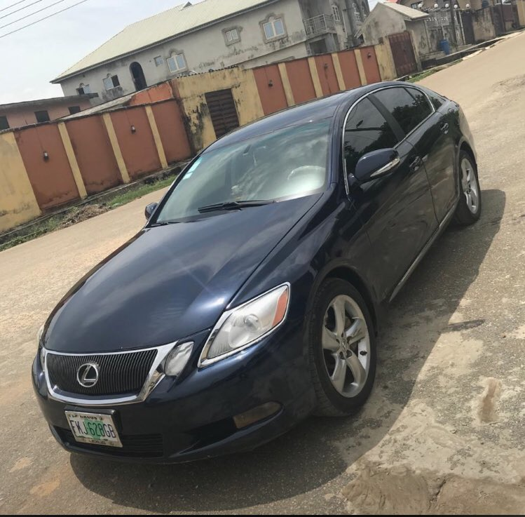 Another one going at a giveaway  price   Midnight deal   6 months used/Reg   2008 upgraded to 2010 Lexus GS 350   Price - #2.350 million   Pls Retweet if you come across this  #midnightsun #Nigerians #Lagos #cars #Lexus #Drag #Apple #music #simp #wednesdaymorningpic.twitter.com/UEaiDSiReU