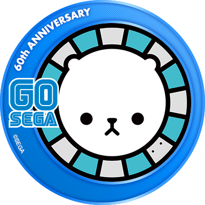 🎉祝60周年🎉本日、6月3日はセガ設立記念日です。今後ともセガを、そしてゲキチュウマイを何卒、よろしくお願い致します。▼記念アイコンはコチラ#GOSEGA #SEGA60th