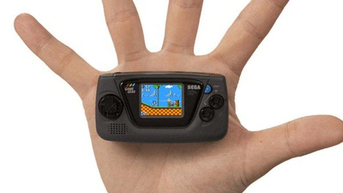 Sega Celebrates Its 60th Anniversary With A Micro Version Of The Game Gear  #Sega #GameGear