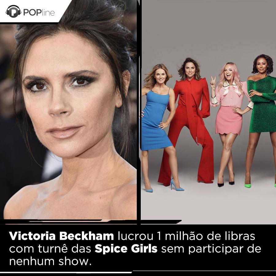 Victoria Beckham não precisou cantar nem subir no palco para embolsar uma GRANA ALTA com a turnê das #SpiceGirls no ano passado. Entenda o caso: https://t.co/YxyBmPgPqG https://t.co/kF70bKAYj0