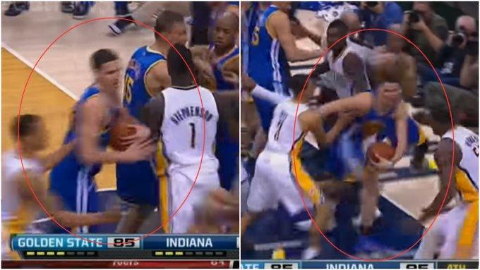 柯瑞談13年和溜馬的衝突,有誰注意到當時的K湯,就這樣還被罰了3.5萬美金!(影)-黑特籃球-NBA新聞影音圖片分享社區