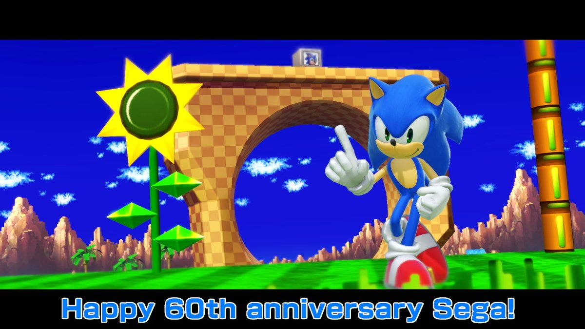 Even with the occasional ups and downs, they're still going strong! Happy 60th anniversary to Sega!!! #SEGA60th #SmashBros #NintendoSwitch