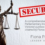 Pleased to announce that terms of reference for a comprehensive Inquiry into Victoria's Justice System passed #springst today. Looking forward to hearing from the experts and listening to what they have to say on the key issues at play in the operation of our justice system.