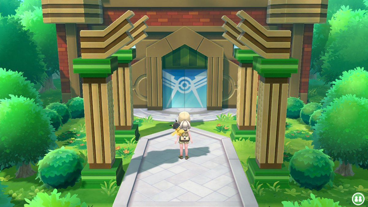 #PokemonLetsGo #NintendoSwitch  Logré llegar hasta aquí... kemosion!pic.twitter.com/lQJIItNZD8
