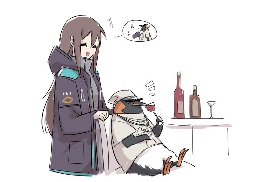 ペンギン触りたい女ドクター#アークナイツ #Arknights