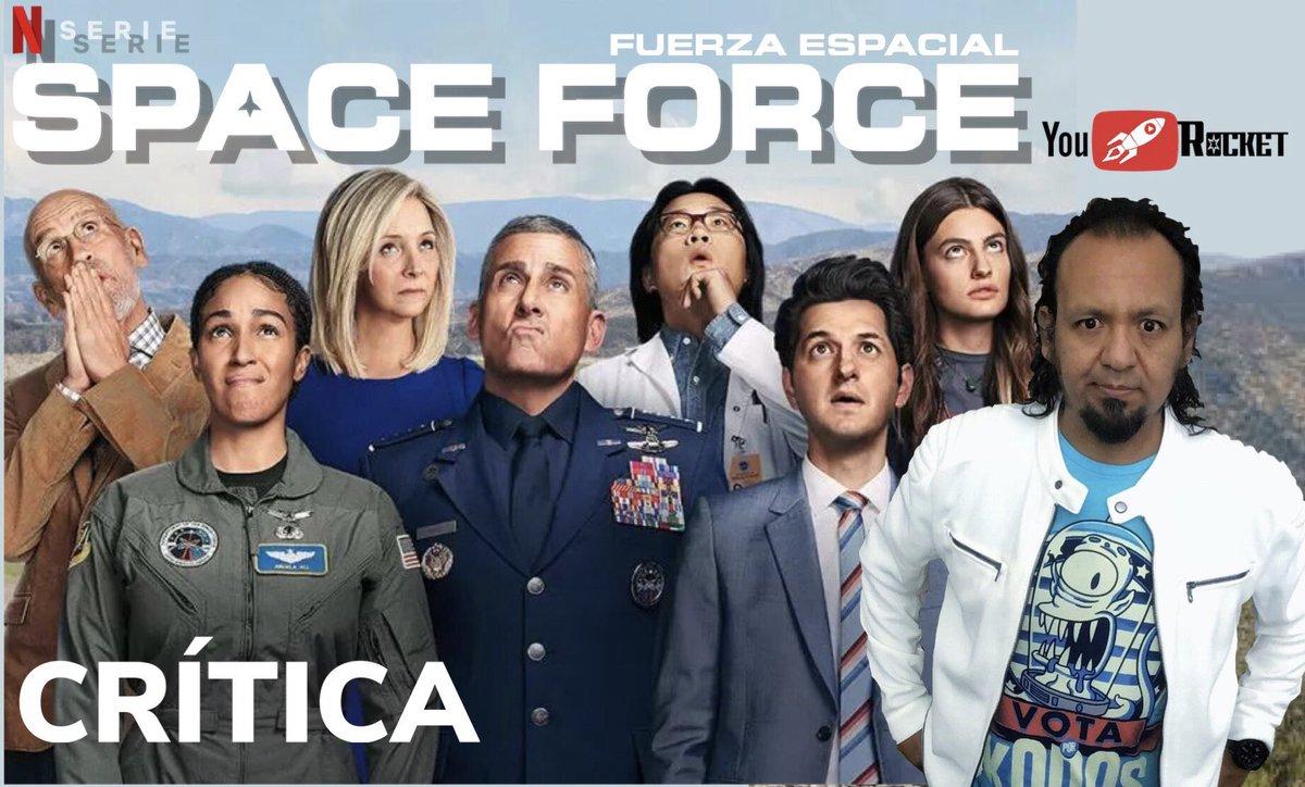 Se estrenó #SpaceForce en @NetflixLAT, ya tuvimos oportunidad de verla y aquí está el video con nuestra opinión! 🚀👉🏽youtu.be/VACgLcUvY4o