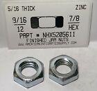 9/16-12 Finished Hex Jam Nuts Steel Zinc Plated (15) - https://ebay.to/2xLJXka #fasteners #industrial pic.twitter.com/EvDDcsYjDO