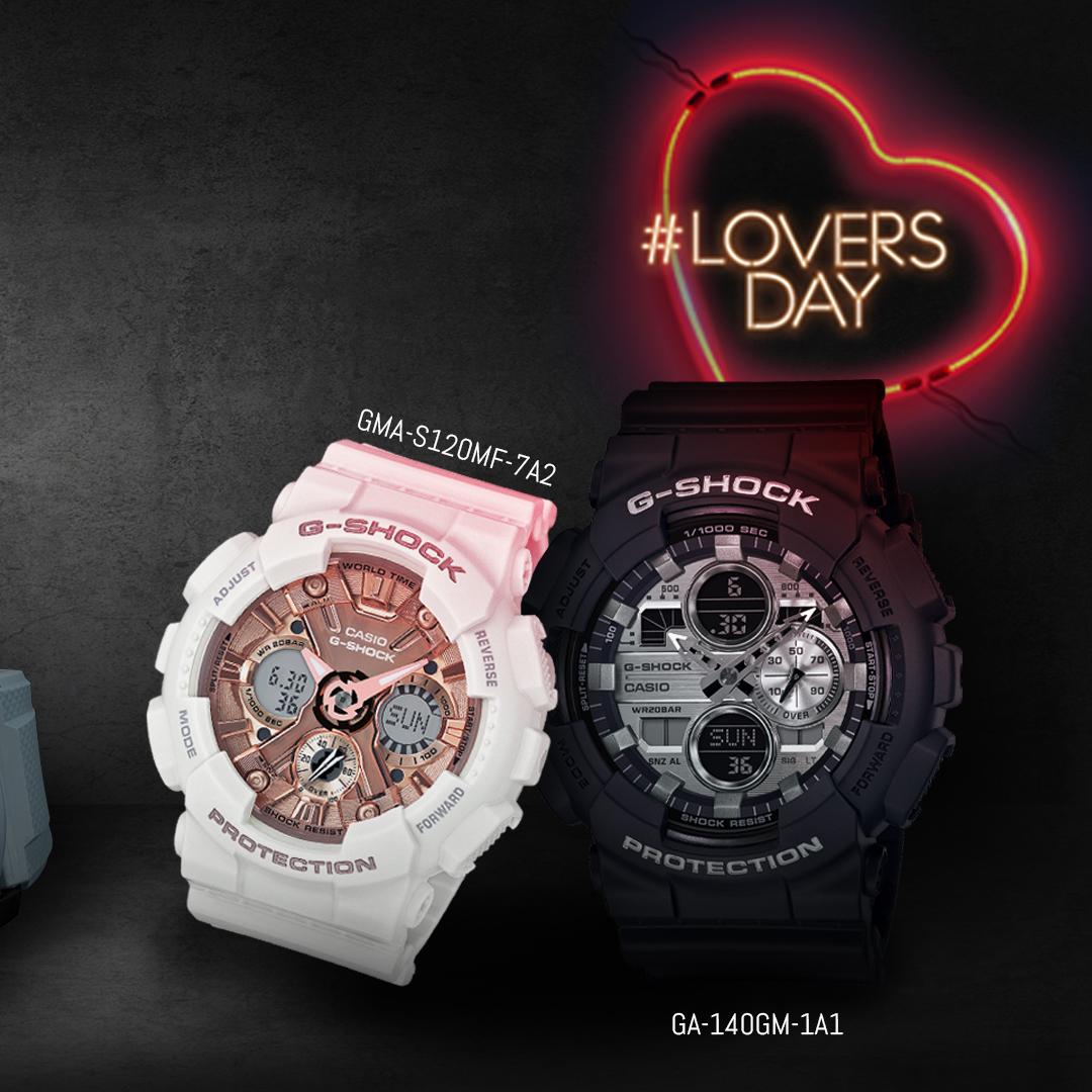 O dia dos namorados está chegando. Já garantiu o presente do seu amor?    Corre que ainda dá tempo, acesse http://www.gshockstore.com.br!  #GShock #GShockBrasil #GA140GB #GA140GM #GShockWomen #GMAS120MF #LoversDay #DiaDosNamoradospic.twitter.com/0ShlEfNLQ9