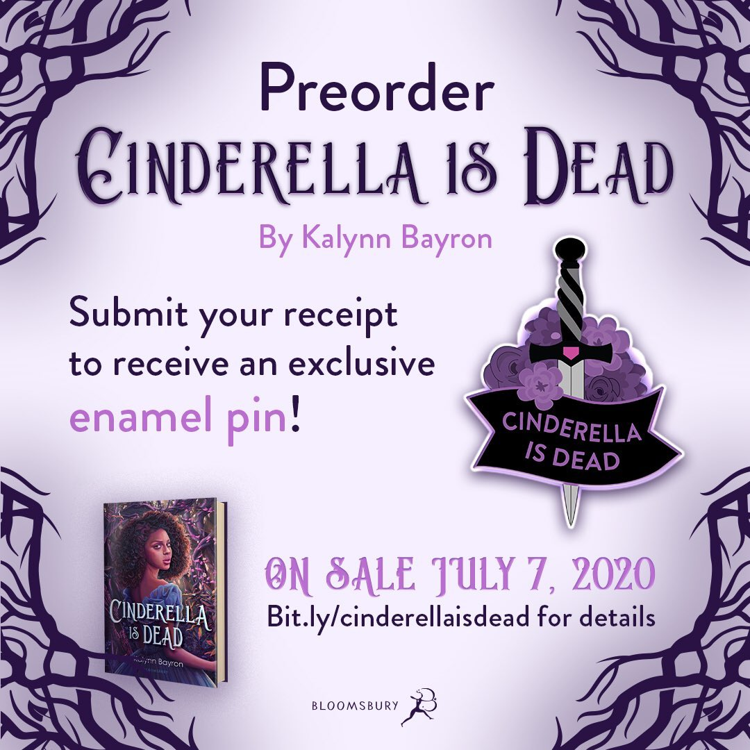 My YA fantasy Cinderella Is Dead comes out July 7th. Preorder campign is still running. 💫  Queer Black girls team up to overthrow the patriarchy in the former kingdom of Cinderella.   Preorder here:  https://t.co/q7O4CFNdYk  #amplifyBlackvoices https://t.co/7cEVI6HFiY
