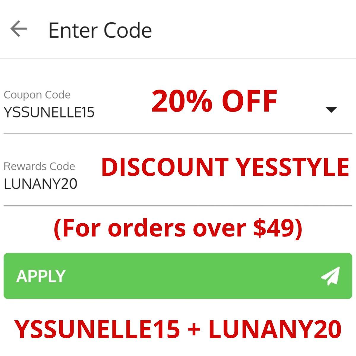 20% OFF YESSTYLE COUPON ♥️😍 YSSUNELLE15 + LUNANY20 (For orders over $49) #yesstyle #yesstylehaul #ootd #lfl #yesstylediscounts #fff #스커트 #koreanstyle  #ulzzang #kbeauty #Korean #kfashion
