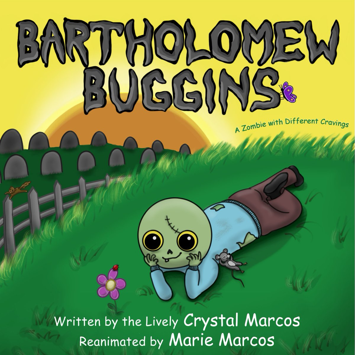 From Award-winning Author @ CrystalMarcos.  2018 Florida Book Festival Honorable Mention! Bartholomew Buggins: A Zombie with Different Cravings  #ebook ChildrensBooks IARTG kidsbooks ASMSG http://viewbook.at/AmazonBBugginspic.twitter.com/hEw88yRzbt